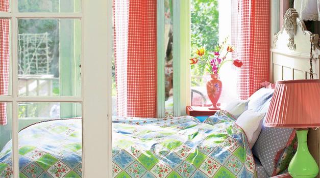 Ureditev spalnice po načelih vastuja (foto: promocijsko)