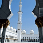 Mošeja šejka Chalifa bin Zayeda je arhitektonski biser. (foto: Arhiv revije Lisa - Čarovnija okusa)