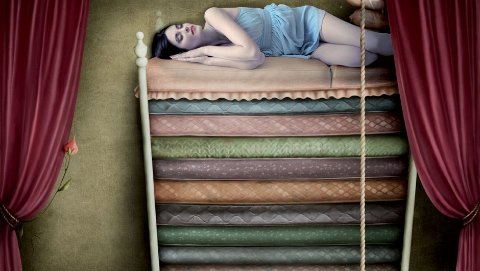 Ste princeska na zrnu graha? (foto: Shutterstock)