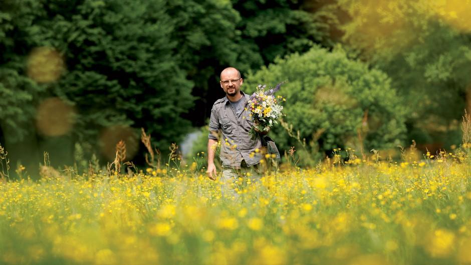 Anton Rudan - gozdni kuhar (foto: Filip Čargonja)