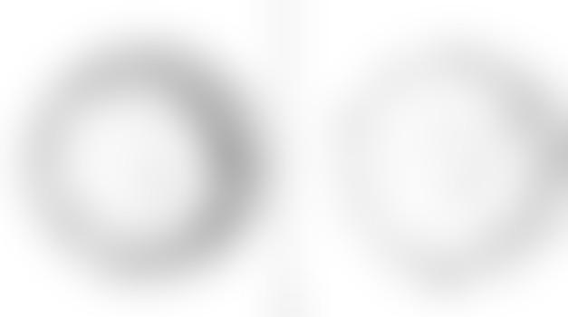 Slika 5: Obdelane fotografije kapljic, na katerih je vidna tekstura posušenih trdnih delcev v kapljici kontrolne vode in testne vode. Levo kontrola, desno od Dragice vplivana voda.