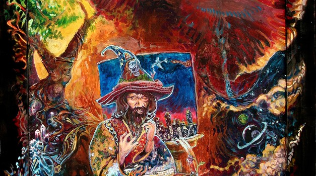 """""""Uchu, kako si pravzaprav začel svojo šamansko pot?"""" (foto: Nagual Uchu; http://nagual-uchu.com/blog/)"""