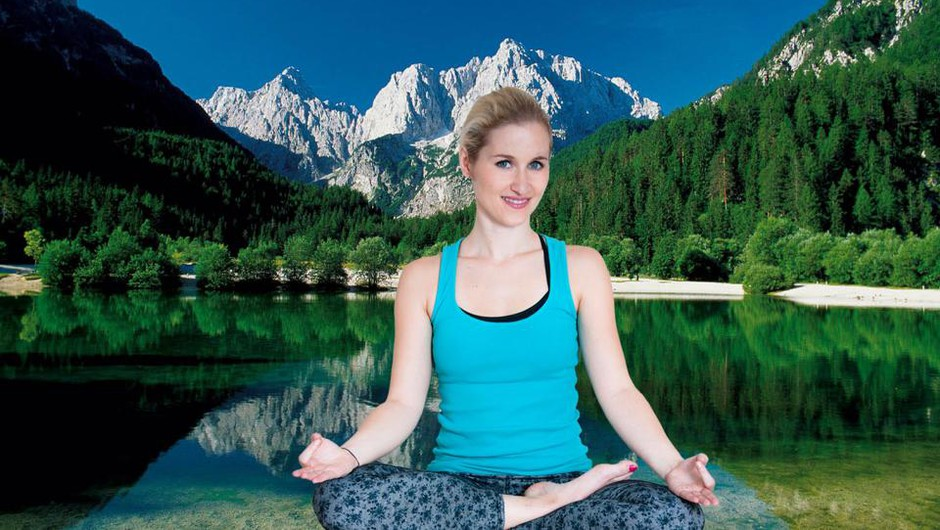 Vabljeni na jogijski oddih v osrčju gora (foto: Mokini yoga)