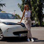 V Ljubljani se z Z. E. TAXIJEM vozite brezplačno! (foto: Renault)
