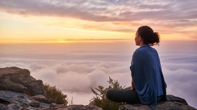 Včasih je največja sreča v trenutkih, ko si sam (foto: Shutterstock)