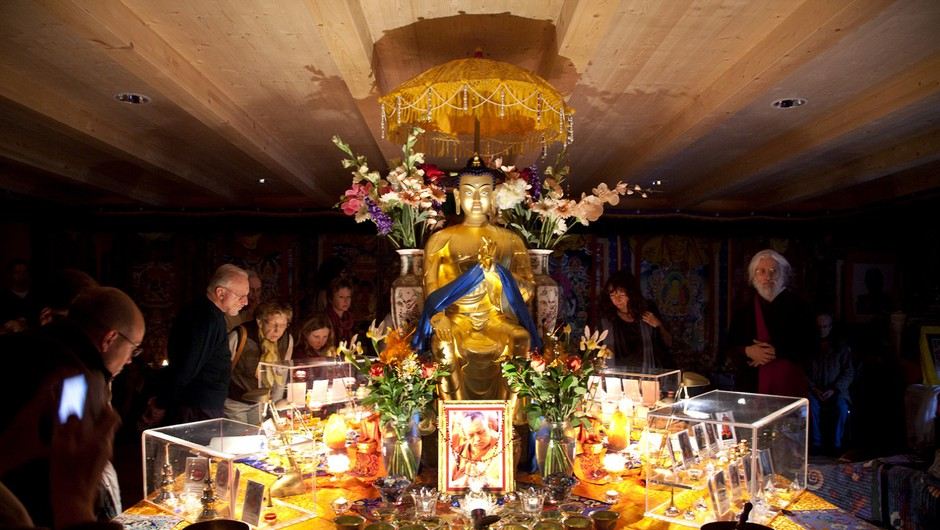 Razstava Budovih relikvij za mir in sočutje (foto: LifeClass)