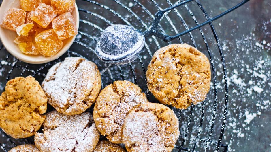 Zdrave sladice: Kamutovi piškoti s kandiranim ingverjem (foto: Barbarella)