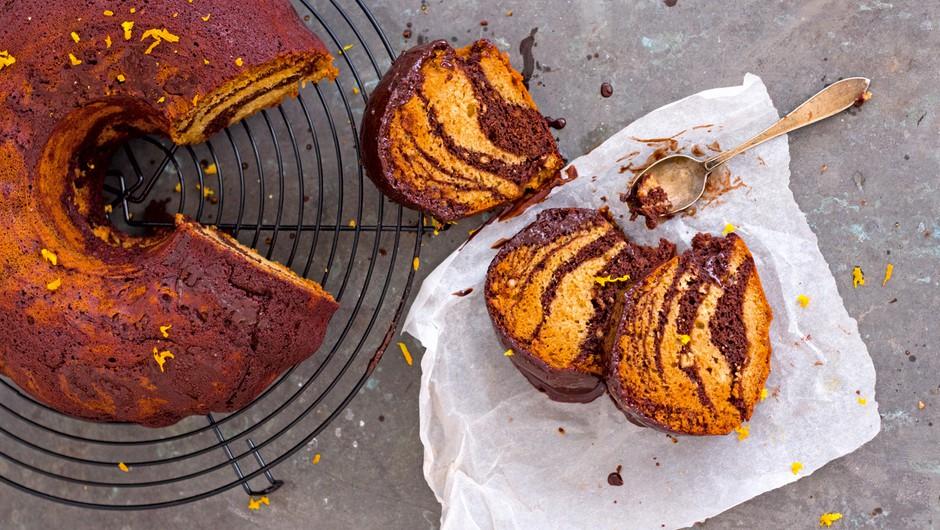 Zdrave sladice: Zebrin kolač s pomarančo (foto: Barbarella)