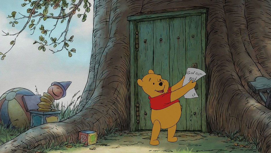Modrosti medvedka Pu-ja (foto: Profimedia)