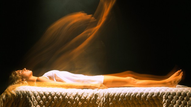 Ruski znanstvenik fotografiral dušo, ki je zapustila telo (foto: Profimedia)