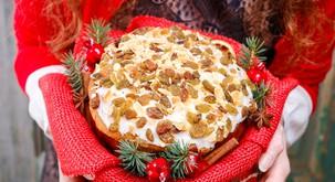 Božični kolač ali paneton (veganski)