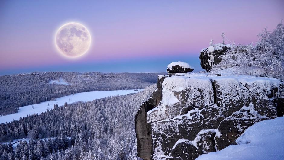 Kaj prinaša prva polna luna v letu 2018 (foto: profimedia)