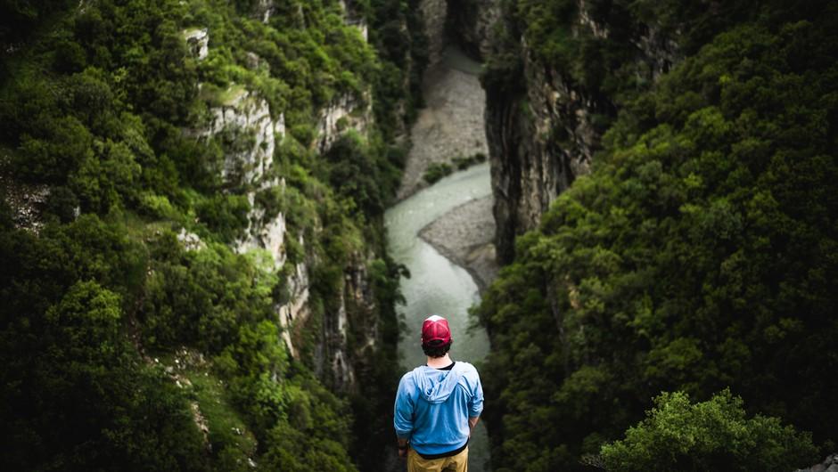 """Rok Rozman: """"Ko prekineš rečni tok, prekineš življenje."""" (foto: jan pirnat)"""