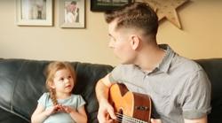 Video: Prisrčen duet očeta in hčerke