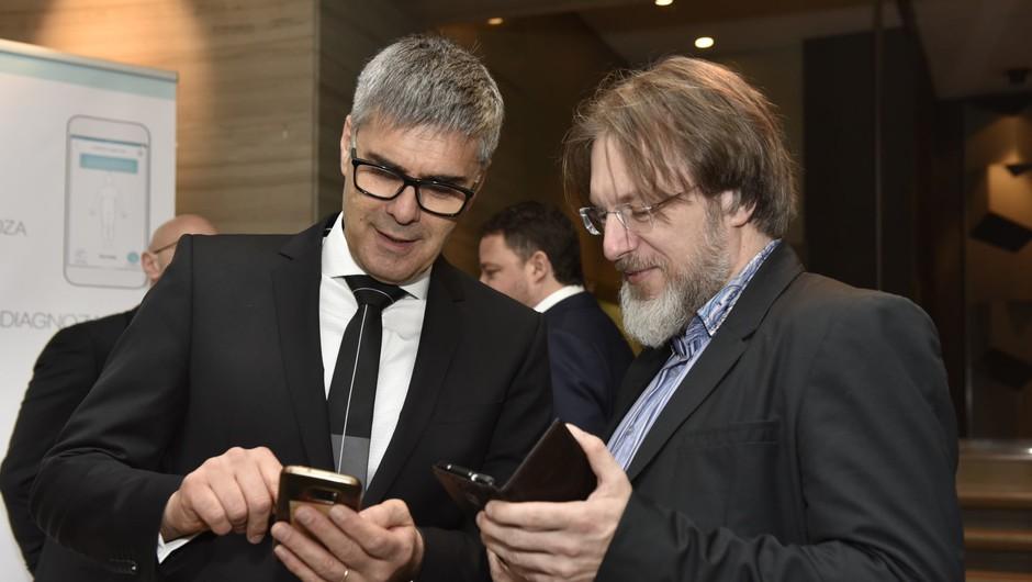 Rojstvo nove mobilne aplikacije: MOJA DIAGNOZA (foto: Igor Zaplatil)