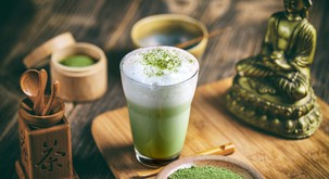 Recept: MATCHA LATTE