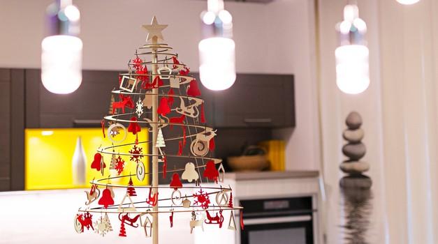Ekološko leseno božično drevo Spira (foto: Katja Jemec)