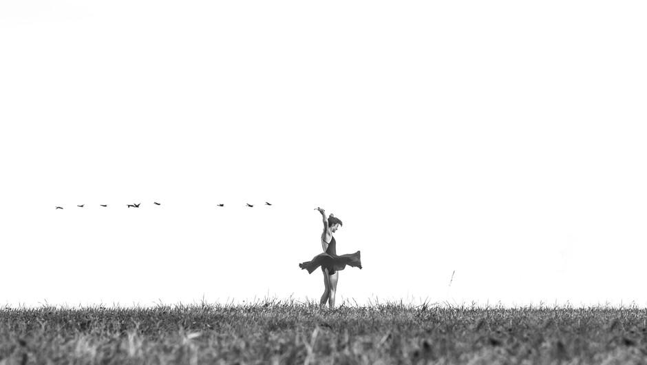 Sporočilo za današnji dan: Pleši, kot da te nihče ne gleda (foto: unsplash)