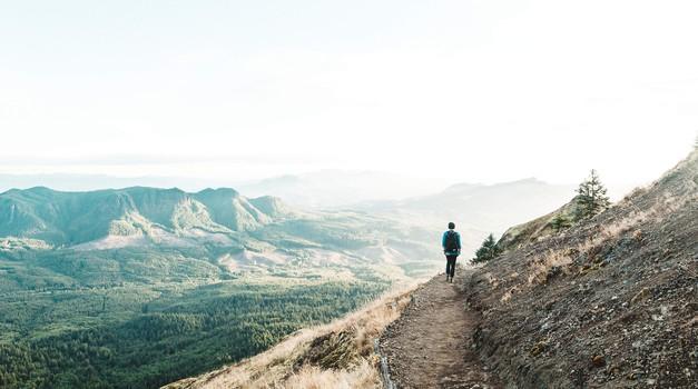 Ko dosežete dno, obstaja samo še pot navzgor (foto: pixabay)