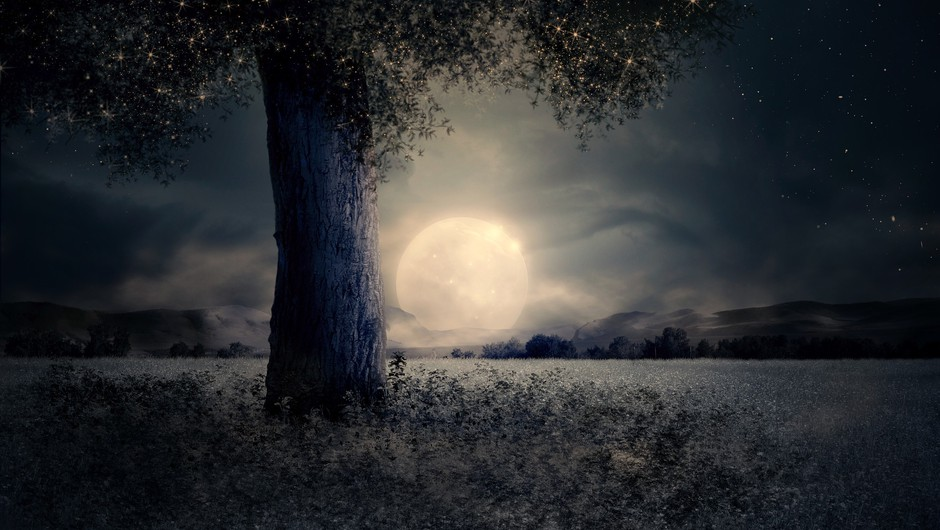 Tokratna polna luna gre v globino (foto: pixabay)