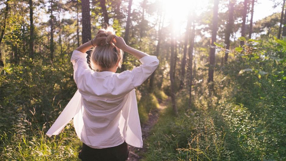 Ko delate na sebi, pomagate planetu (foto: Unsplash.com)