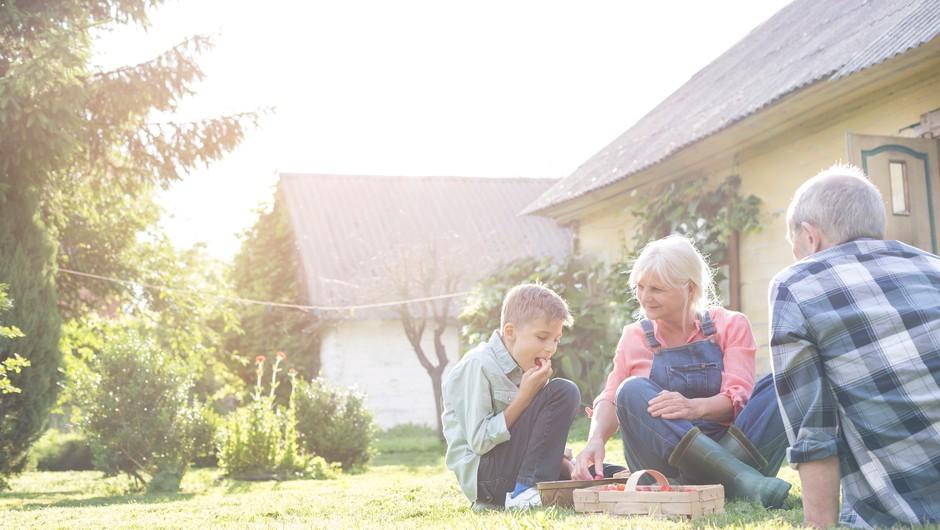 Zakaj je dobro krepiti odnose z babicami in dedki (foto: profimedia)
