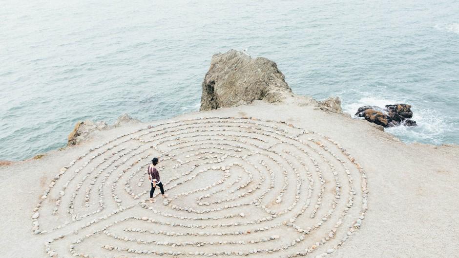 Labirint Želja bo sprejel vašo željo za prihajajoče leto 2020 (foto: unsplash)