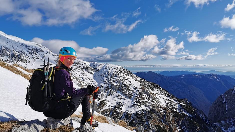 Pogumna punca: Do vrha in potem še naprej (foto: Nataša Vidgaj)