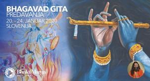 Predavanja BHAGAVAD GITAs Swamijem Kanjalochano