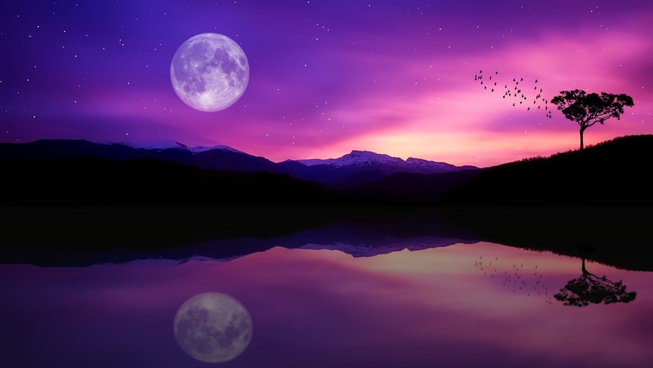 Prihaja najbolj svetla SUPER POLNA LUNA tega leta (v tehtnici) (foto: pixabay)