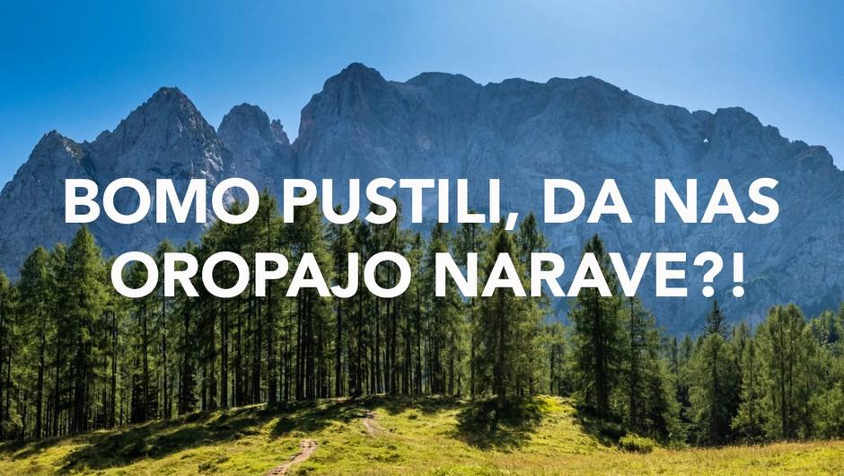 """Rok Rozman: """"Jutri nam grozi razprodaja slovenske narave!!"""" (foto: balkan river defence)"""