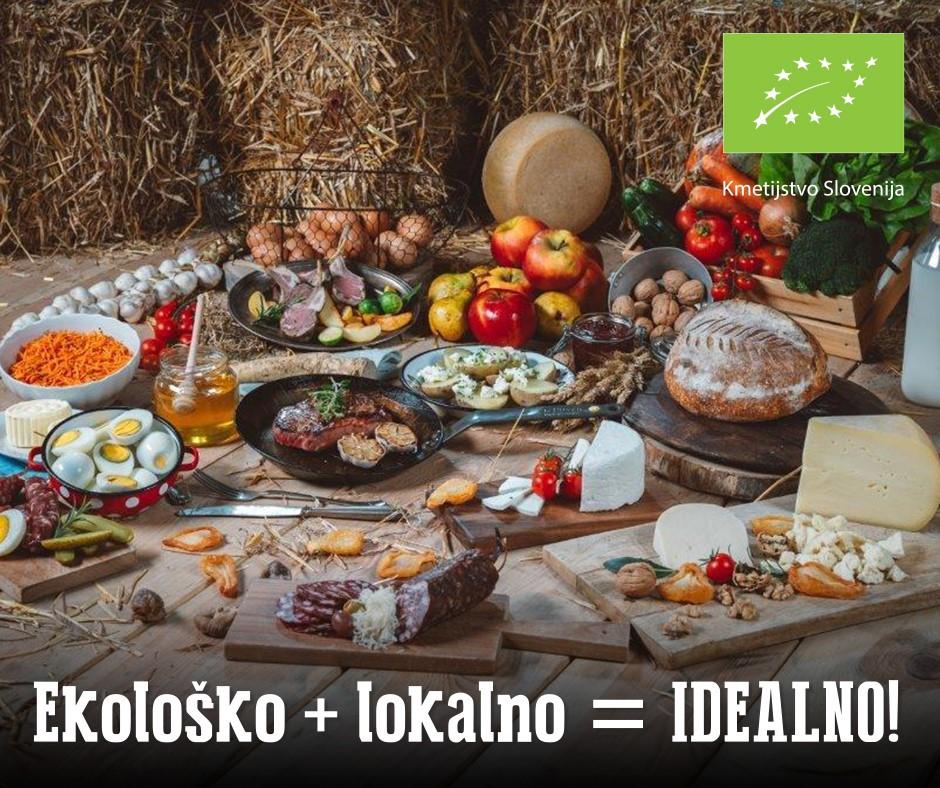 Vseslovenska kampanja ozaveščanja - Ekološko + lokalno je idealno! (foto: promocijski materiali)