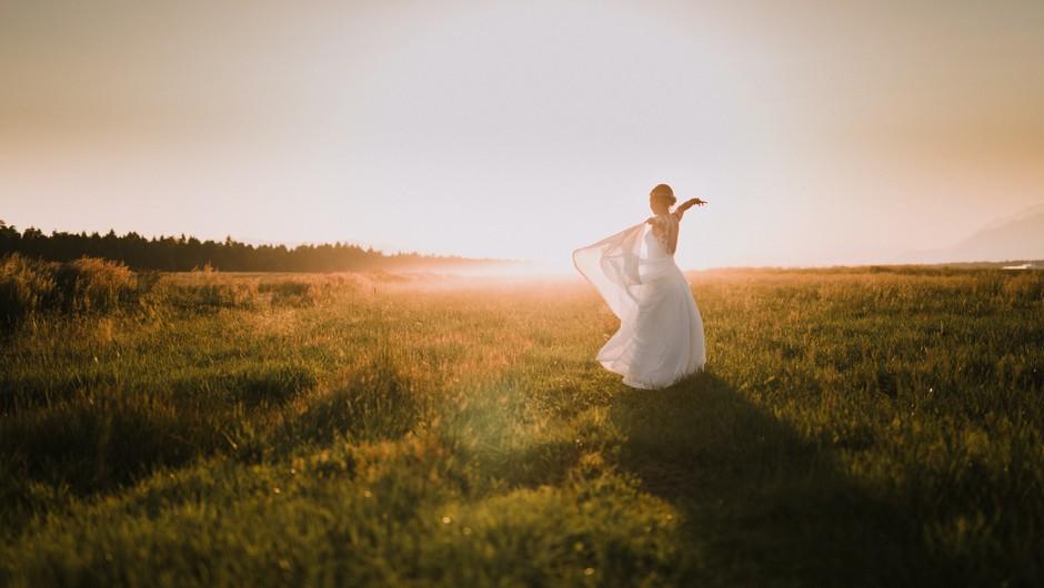 Najlepše poročne fotografije: Kako do njih? (foto: Katja Jemec)