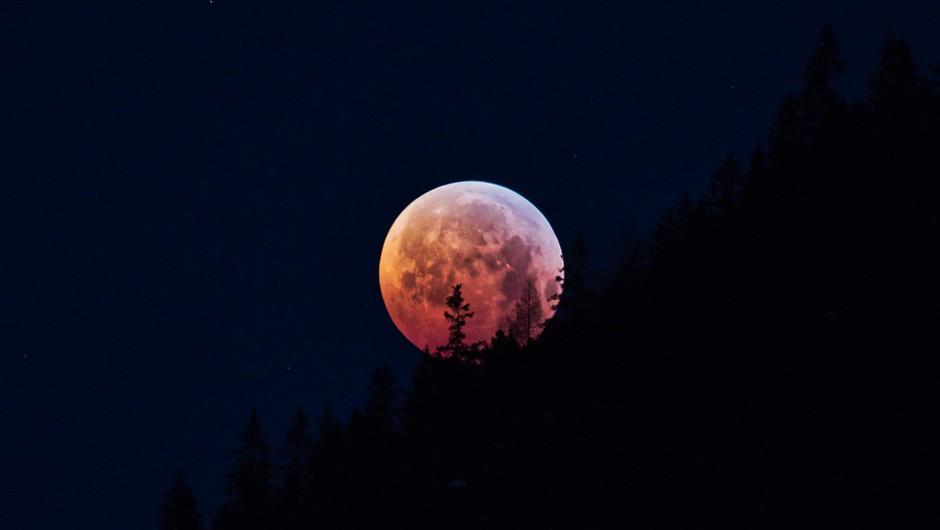 Prihaja LUNIN MRK, ki ima 10x večji vpliv kot polna luna (foto: pixabay)
