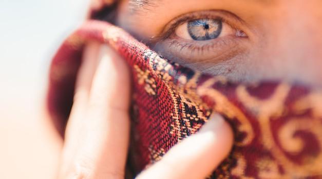 O resnični podobi muslimanske ženske (foto: pexels)