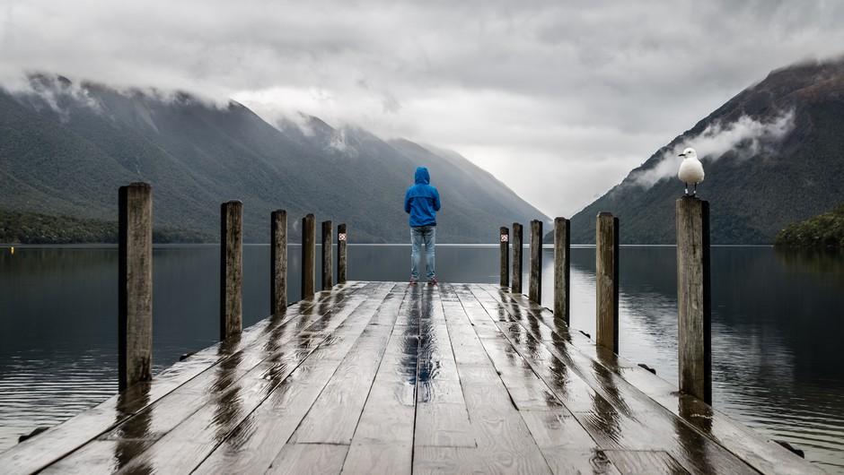 Ko priznaš, da si kdaj depresiven ali anksiozen (foto: pexels)
