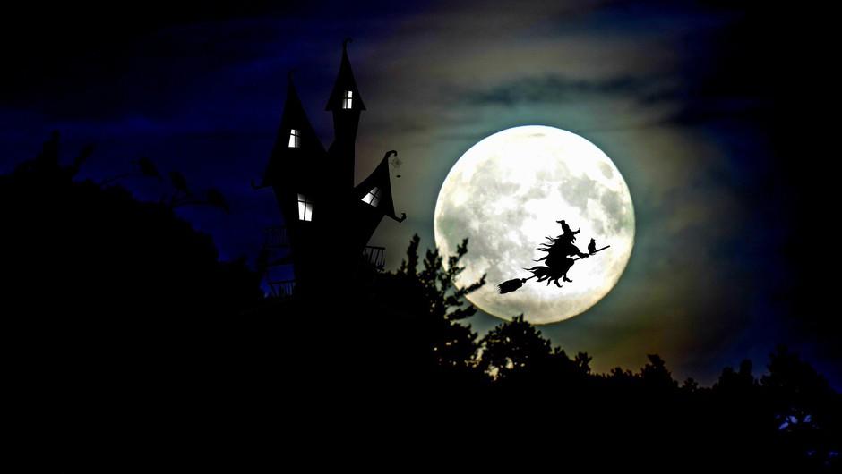 Prihaja POLNA LUNA na noč čarovnic! (foto: pixabay)