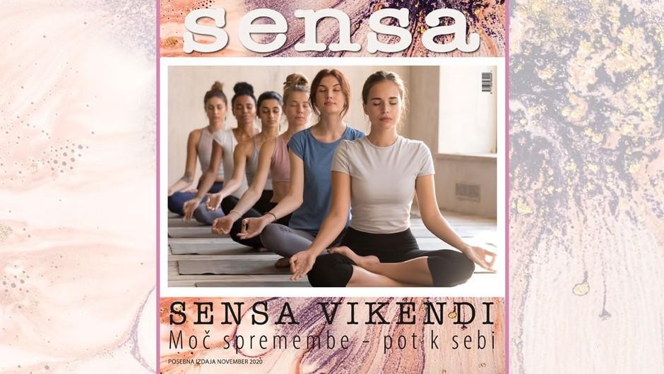 Izšla je e-knjiga Sensa vikendi: Moč spremembe - pot k sebi (foto: Sensa.si)