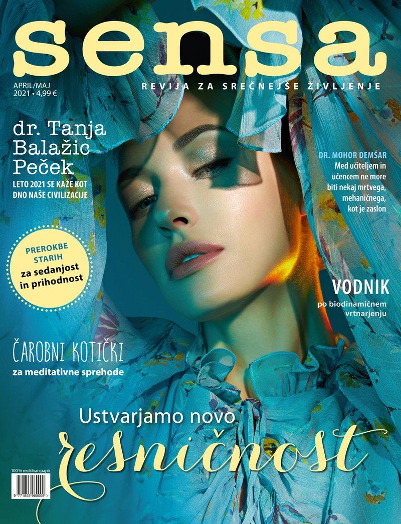 naslovnica Sensa april/maj 2021