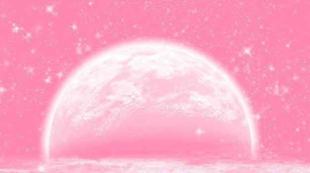 Rožnata polna luna prinaša globoke tranformacije (foto: pixabay)