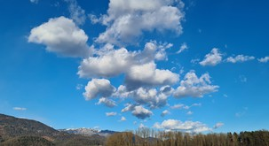 Tako napoveste vreme po obliki oblakov in barvi neba