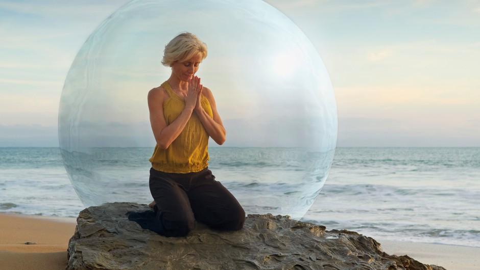 V mislih prosite svoje duhovno vodstvo za zaščito vaše energije (foto: profimedia)