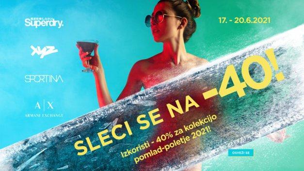 To je ponudba, ki se ji težko upreš: nakupovalni festival v trgovinah Sportina Group (foto: Sportina)
