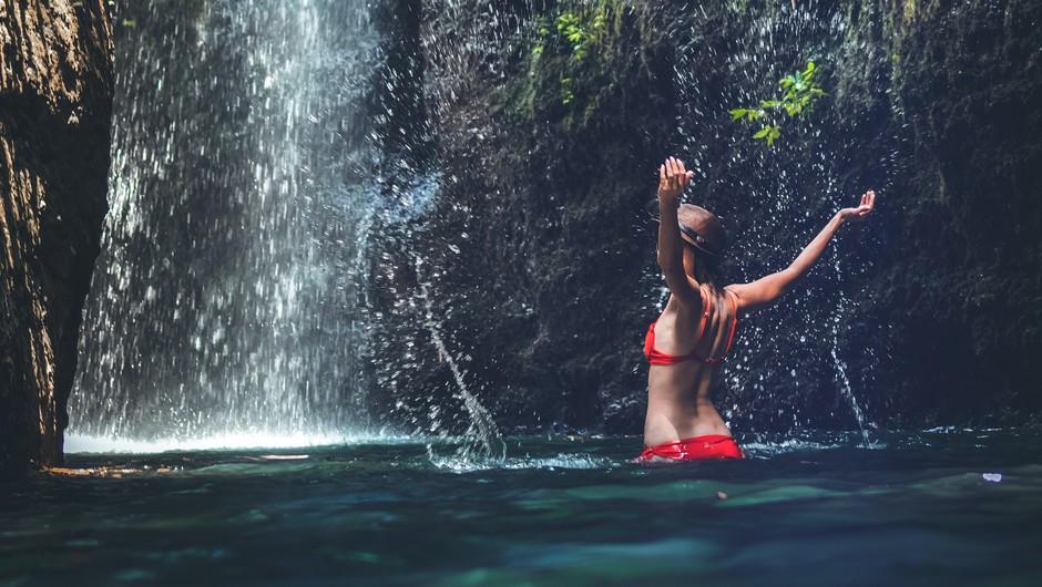 3 vodni rituali za očiščenje (slap, reka, potok in morje) (foto: pexels)