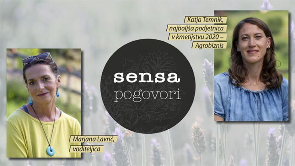"""Katja Temnik v oddaji Sensa pogovori: """"Narava je ena sama modrost, ki čaka, da jo odkrijemo."""" (video) (foto: sensa)"""