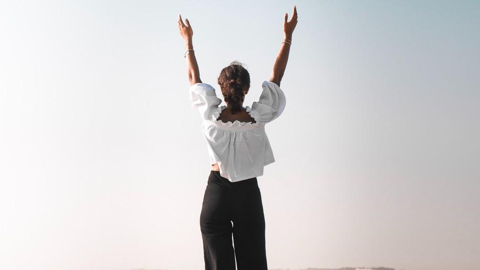 Uresničitev vaših sanj je neposredno povezana z držo vašega telesa (foto: pexels)